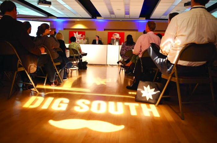 Attendees at DigSouth Conference