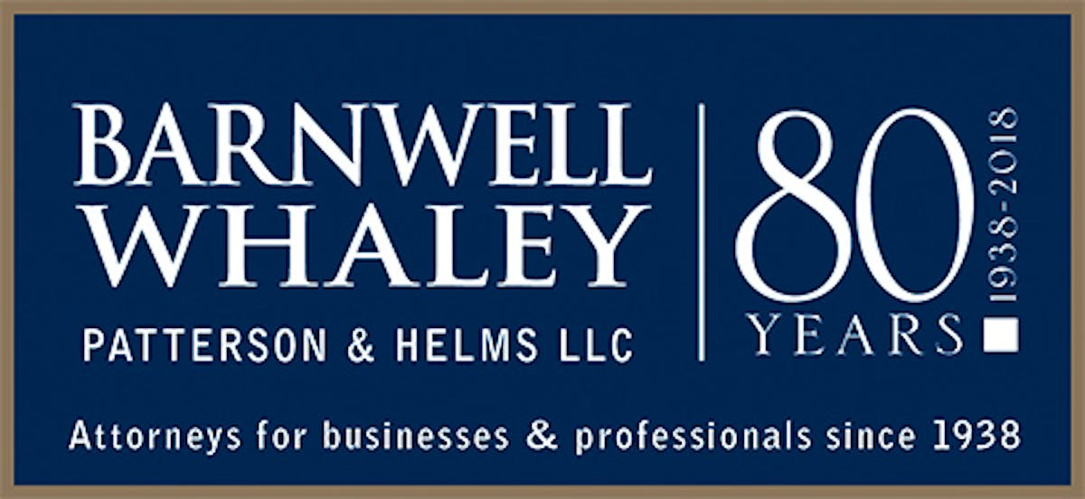 Barnwell Whaley - business and IP law